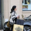 Liberty Ross Shopping At Barneys New York In Los Angeles
