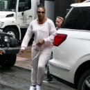 Serena Williams – Heads out for practise session in New York City - 454 x 550