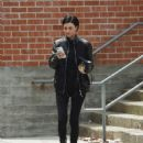 Ruby Rose at a office building in Beverly Hills