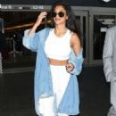 Nicole Scherzinger – Arriving at LAX Airport in Los Angeles
