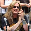 Sebastian Bach attends America's Hottest Rocker Mom Contest at Madison Square Park on June 3, 2009 in New York City