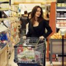 Angelina Jolie was at the Gelson's Markets, in Los Angeles. (September 24, 2017)