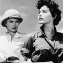 Ava Gardner and Grace Kelly in Mogambo