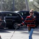 Ashley Tisdale – Walking her dog in Bel Air