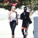 Vanessa Hudgens in Spandex heading to the gym in LA - 454 x 565