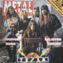 Tommy Skeoch, Jeff Keith, Brian Wheat, Frank Hannon - Metal Shock Magazine Cover [Italy] (November 1991)