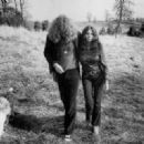 Robert Plant and Maureen Plant ca. 1970
