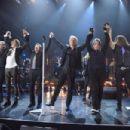 Bon Jovi performs during the 33rd Annual Rock & Roll Hall of Fame Induction Ceremony at Public Auditorium on April 14, 2018 in Cleveland, Ohio - 454 x 302