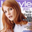 Jessica Chastain - InStyle Magazine Pictorial [United States] (January 2015)