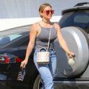 Hilary Duff – Shopping at Sephora cosmetics store in Studio City