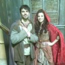 Meghan Ory and Jesse Hutch