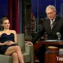 Natalie Portman At The Late Show With David Letterman