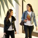 Kourtney Kardashian: goes shopping with a friend in Bal Harbor Miami