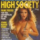 Julia Parton - High Society Magazine [United States] (January 1992)