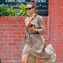 Irina Shayk – Out in the West Village