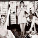 Suki Waterhouse Cara Delevingne and Georgia May Jagger Vogue Magazine April 2015