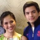 Lucho Ayala and Julie Anne San Jose