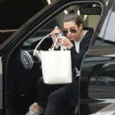 Lea Michele – Arrives at the Montage Beverly Hills