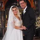 Carolina Dieckmann and Marcello Antony