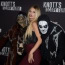 Annalynne McCord – Knott's Scary Farm Opening Night in Buena Park, CA 9/30/2016 - 454 x 373