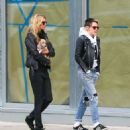 Kristen Stewart and Stella Maxwell out in New York City - 454 x 540