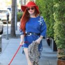 Phoebe Price was seen in Beverly Hills, California on March 31, 2017 - 400 x 600