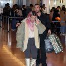 Kim Kardashian at Haneda International Airport in Tokyo
