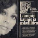 Sophia Loren - Seura Magazine Pictorial [Finland] (15 November 1974) - 454 x 286