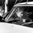Director Curtis Hanson with Michael Douglas on the set of Paramount's Wonder Boys - 2/2000