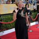 Emma Thompson attends the 20th Annual Screen Actors Guild Awards at The Shrine Auditorium on January 18, 2014 in Los Angeles, California