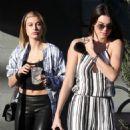 Kendall Jenner Shopping At Barneys New York