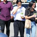 Selena Gomez – Leaves Alfred in Studio City
