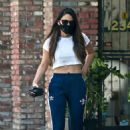 Olivia Munn – Looks sporty wearing Addidas while leaving a nail salon in Studio City - 454 x 679