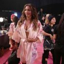 Jasmine Tookes – Victoria's Secret Fashion Show Backstage 2017 in Shanghai - 454 x 311