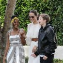 Angelina Jolie attends Labor Day with Daughters party in Santa Monica (September 02, 2019) - 454 x 666