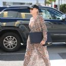 Sharon Stone in Sheer Dress out in Beverly Hills - 454 x 602