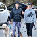 Minka Kelly – Walking Her Dogs in Los Angeles 1/1/ 2017 - 454 x 545