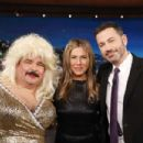 Jennifer Aniston on Jimmy Kimmel Live in Hollywood - 454 x 303