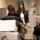 Victoria Justice returned to the United States, February 25