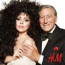 Lady Gaga & Tony Bennett for H&M Holiday 2014 ad campaign - 454 x 456