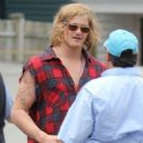 Alexander Ludwig was spotted on the set of his brand new film, Grown Ups 2, in Massachusetts today, June 27