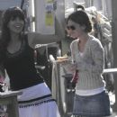 Rachel Bilson Filming The O.C., USC Campus 11 Aug 2006