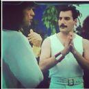 Mick Jagger & Freddie Mercury