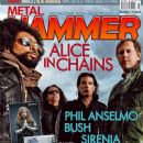 William Duvall, Sean Kinney, Mike Inez, Jerry Cantrell - Metal&Hammer Magazine Cover [Poland] (July 2013)