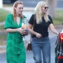 Dakota Fanning and Kirsten Dunst – Heading to a party together in Los Angeles