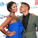 Karla Birbragher and Jorge Bernal- Arrivals at Telemundo's Premios Tu Mundo Awards 2013 - 431 x 594