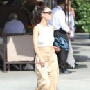 Cara Santana in White Crop Top – Out in Beverly Hills