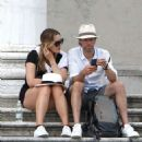 Kate Winslet and her husband Ned Rocknroll out in Venice - 454 x 532