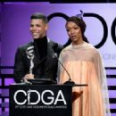 Sonequa Martin-Green attends The 21st CDGA (Costume Designers Guild Awards) at The Beverly Hilton Hotel on February 19, 2019 in Beverly Hills, California - 454 x 336
