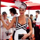 Megan Gale-Aami Victoria Derby Day In Melbourne 31/10/10